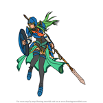 How to Draw Nephenee from Fire Emblem