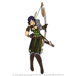 How to Draw Noire from Fire Emblem