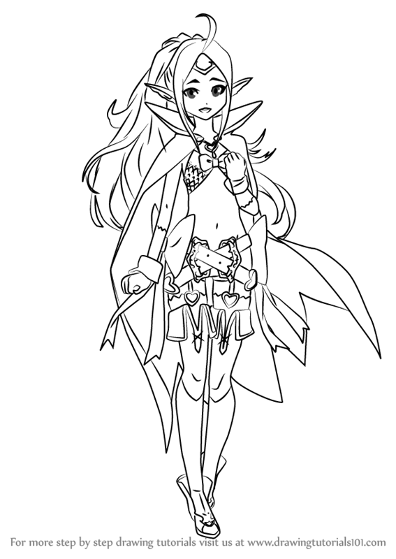 Learn How To Draw Nowi From Fire Emblem Fire Emblem Step