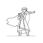 How to Draw Raigh from Fire Emblem