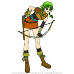 How to Draw Rebecca from Fire Emblem