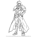 How to Draw Roderick from Fire Emblem