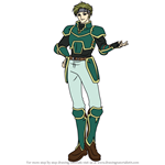 How to Draw Sain from Fire Emblem