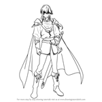 How to Draw Seliph from Fire Emblem