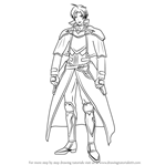 How to Draw Seth from Fire Emblem