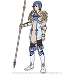 How to Draw Shigure from Fire Emblem