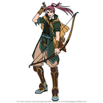 How to Draw Shinon from Fire Emblem