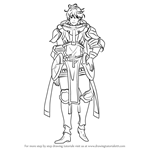 How to Draw Stahl from Fire Emblem