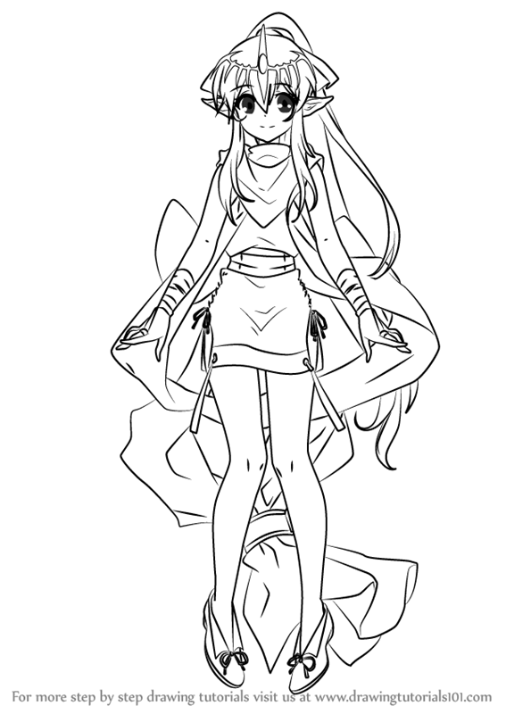 Learn How To Draw Tiki From Fire Emblem Fire Emblem Step