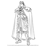 How to Draw Zephiel from Fire Emblem