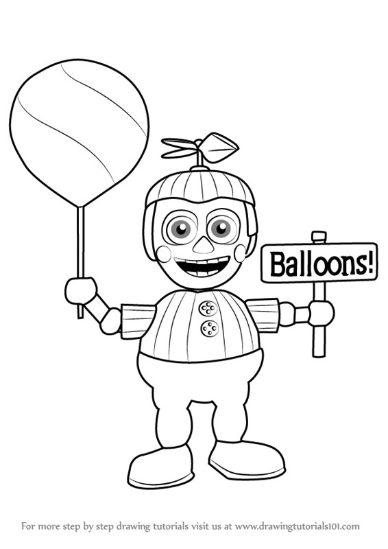 Balloon Boy Coloring Pages | Coloring Page