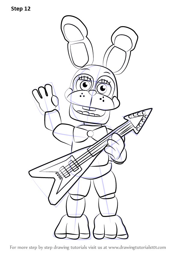 Learn How to Draw Toy Bonnie from