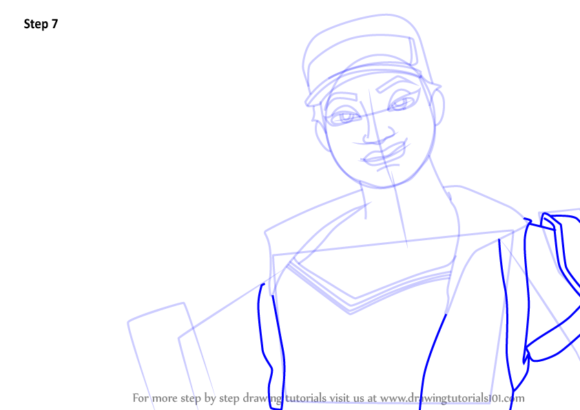 Learn How To Draw Controller Harper From Fortnite