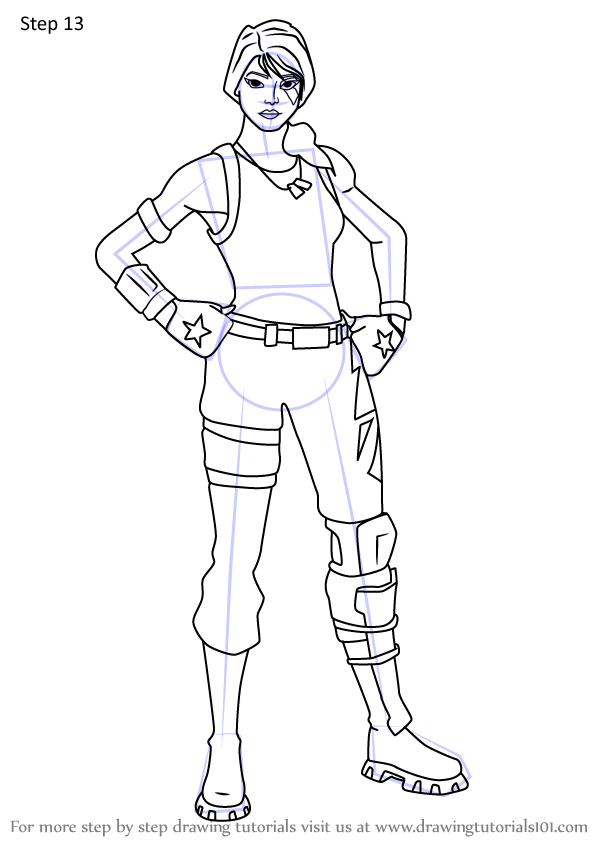 Learn How To Draw Sparkle Specialist From Fortnite