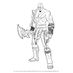 How to Draw Kratos from God of War
