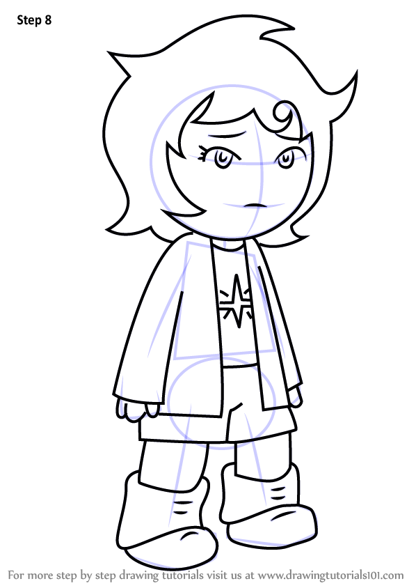 Learn How To Draw Joey Claire From Hiveswap Hiveswap
