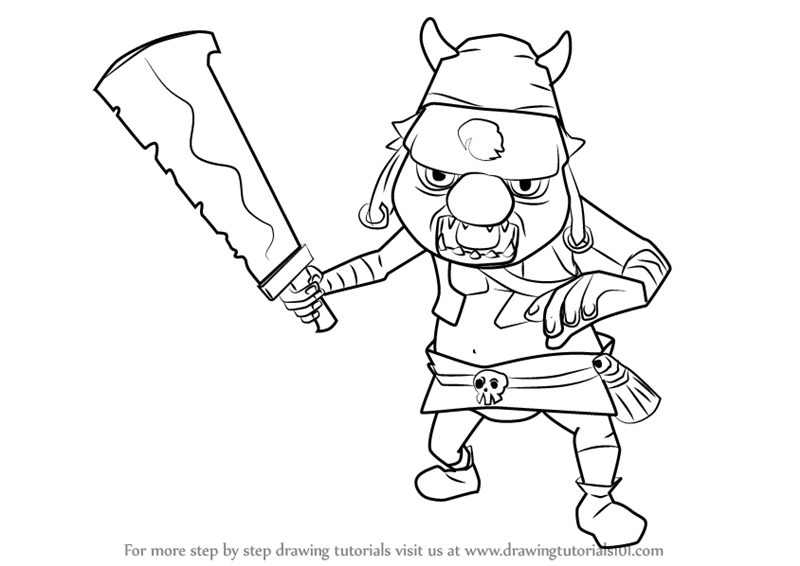 Learn How To Draw Bokoblin From Hyrule Warriors Hyrule
