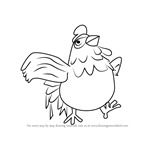 How to Draw Cucco from Hyrule Warriors