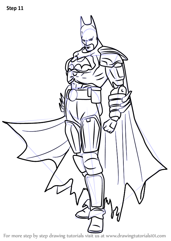 Learn How to Draw Batman from Injustice