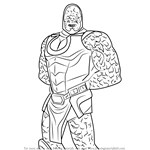 How to Draw Darkseid from Injustice - Gods Among Us