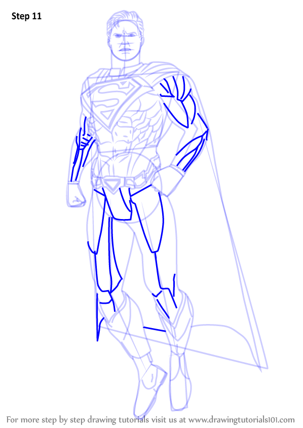 Learn How to Draw Superman from