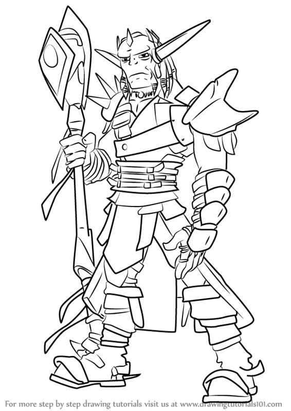 jak and daxter coloring pages - step by step how to draw damas from jak and daxter