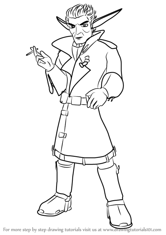 Jak And Daxter Drawings Sketch Coloring Page Jak And Daxter Coloring Pages