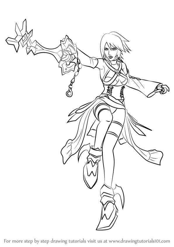 Learn How To Draw Aqua From Kingdom Hearts Kingdom Hearts