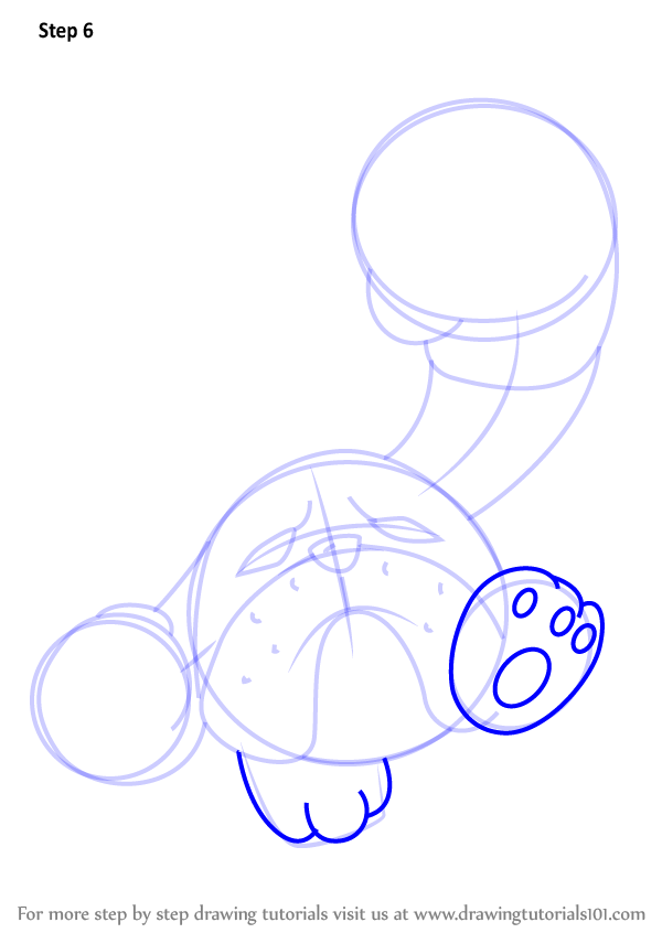 how to draw kirby hammer