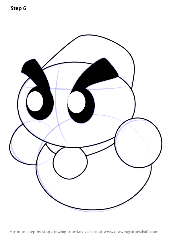 Learn How to Draw Chilly from Kirby