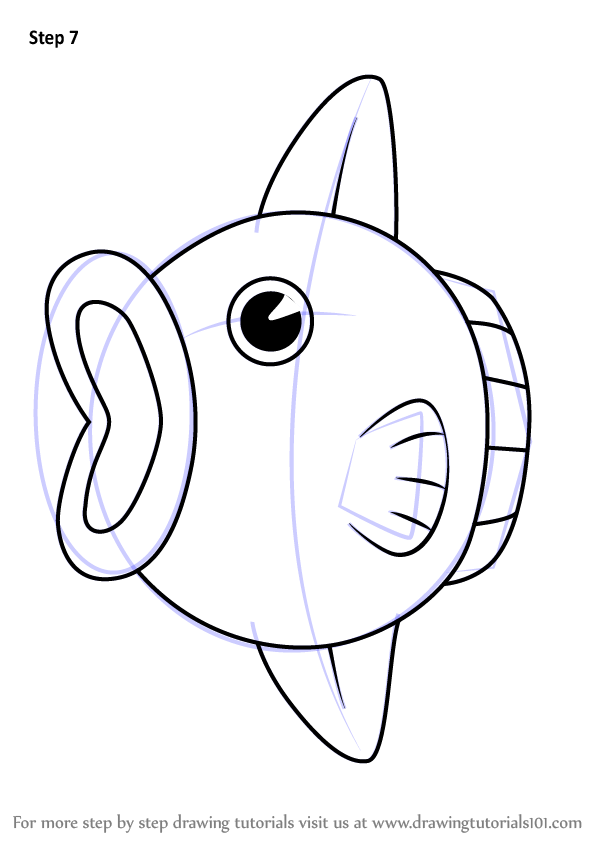 Learn How To Draw Kine From Kirby Kirby Step By Step