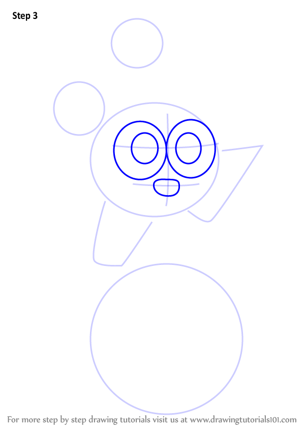 how to draw kirby dots