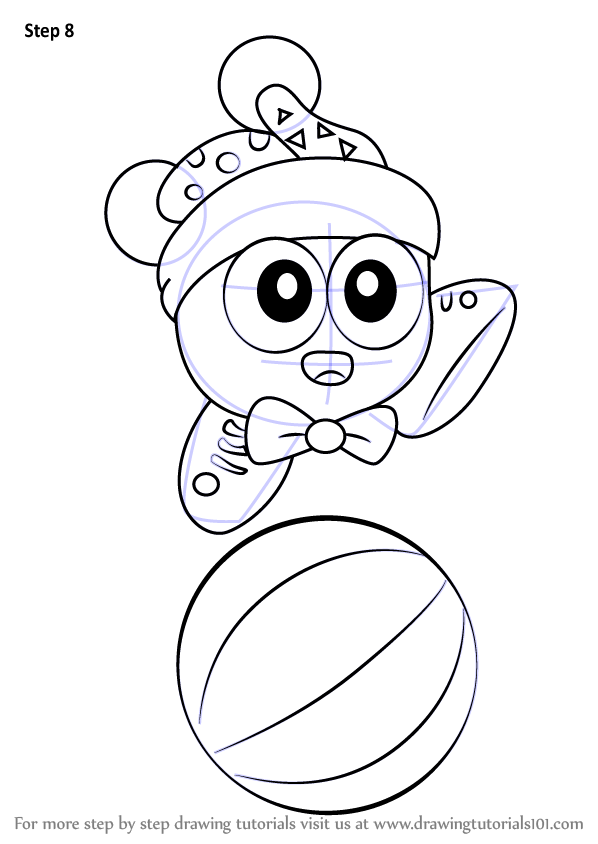 Learn How To Draw Marx From Kirby Kirby Step By Step