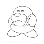 How to Draw Mr. Frosty from Kirby