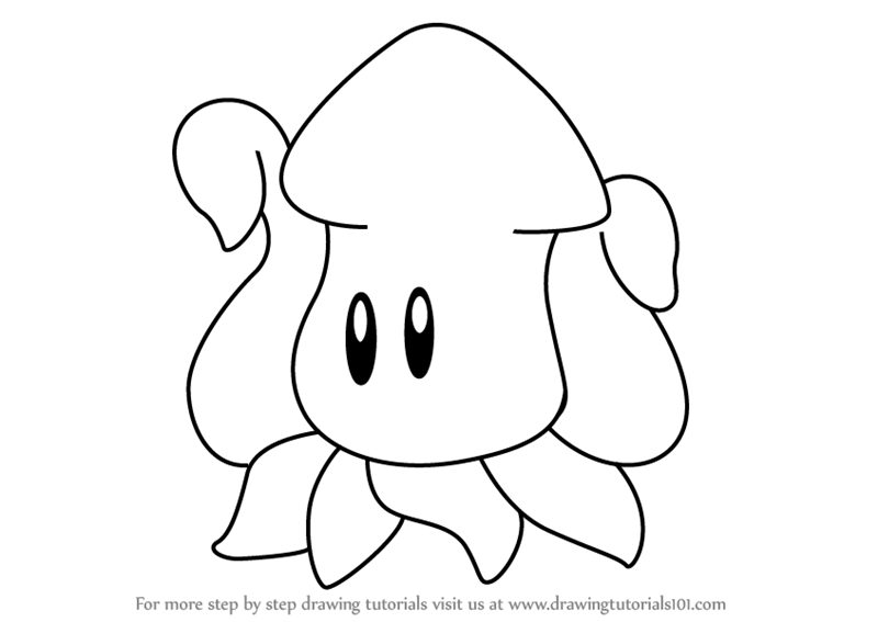 coloring pages of squishies | Step by Step How to Draw Squishy from Kirby ...