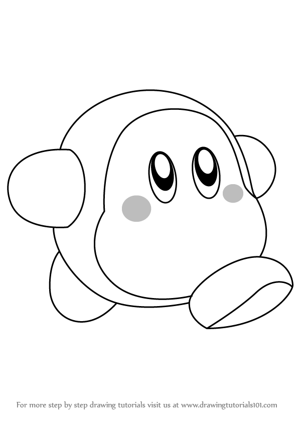 Waddle Dee Free Coloring Pages