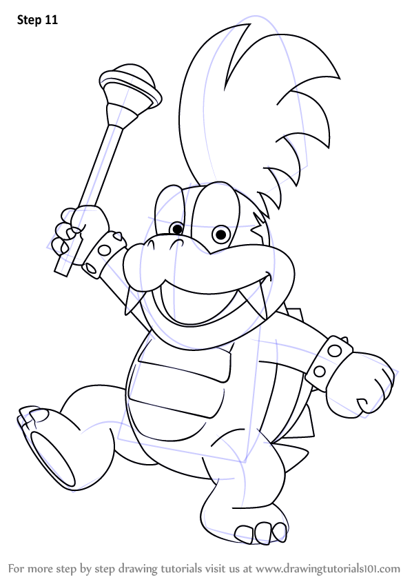 Learn How to Draw Larry Koopa from