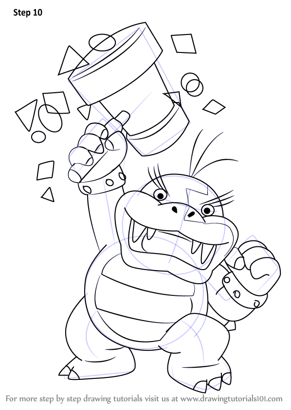 Learn How to Draw Morton Koopa