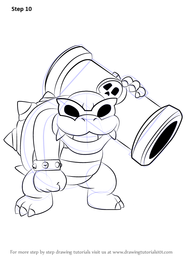 Learn How to Draw Roy Koopa from