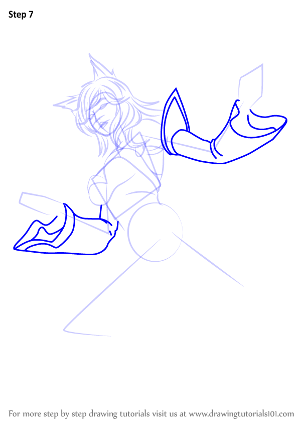 Learn How To Draw Ahri From League Of Legends League Of