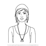 How to Draw Chloe from Life is Strange