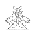 How to Draw Boarbooster from Medabots