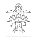 How to Draw Circulis from Medabots
