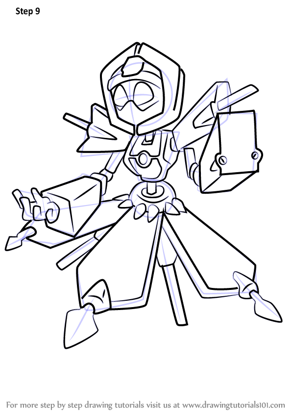 learn how to draw food witch from medabots medabots step by step How Draw Yourself shop now