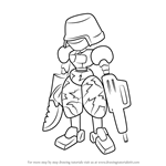 How to Draw Frontline from Medabots