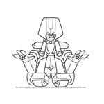 How to Draw Great Kabuki from Medabots