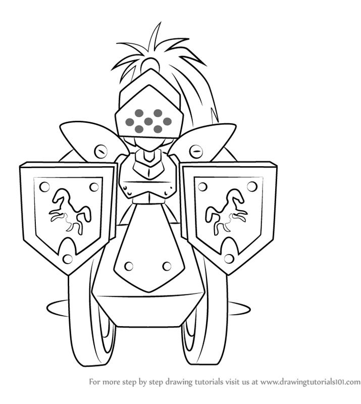 Learn how to draw knight armor from medabots (medabots) step by.