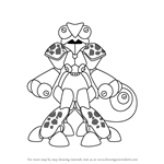 How to Draw Multikolor from Medabots