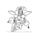 How to Draw Propolis from Medabots