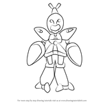 How to Draw Stingray from Medabots